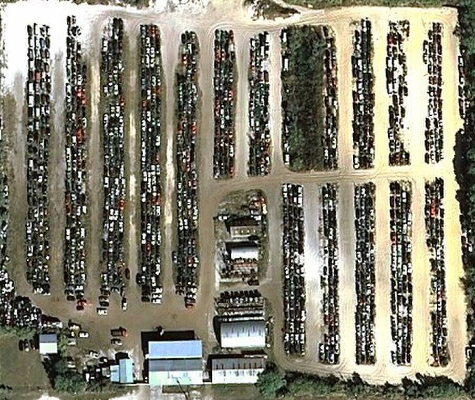 U pull it self service salvage yard central florida u pull it aerial view of salvage yard do it yourself yard solutioingenieria Gallery